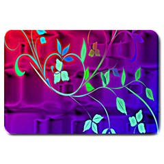 Floral Colorful Large Door Mat