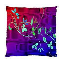 Floral Colorful Cushion Case (Single Sided)