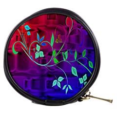 Floral Colorful Mini Makeup Case