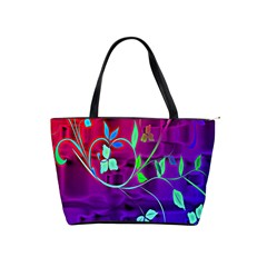 Floral Colorful Large Shoulder Bag