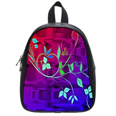Floral Colorful School Bag (Small)