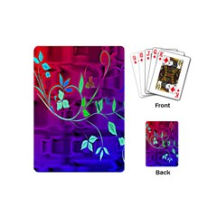 Floral Colorful Playing Cards (Mini)