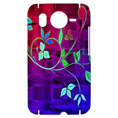 Floral Colorful HTC Desire HD Hardshell Case