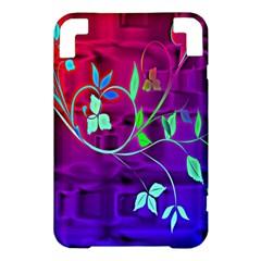 Floral Colorful Kindle 3 Keyboard 3G Hardshell Case