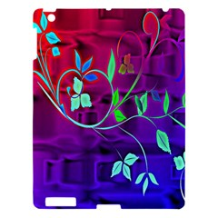 Floral Colorful Apple iPad 3/4 Hardshell Case