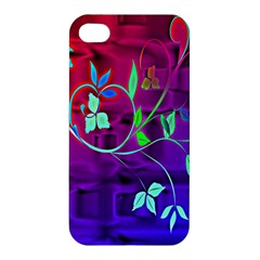 Floral Colorful Apple iPhone 4/4S Premium Hardshell Case
