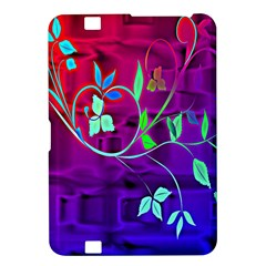 Floral Colorful Kindle Fire HD 8.9  Hardshell Case