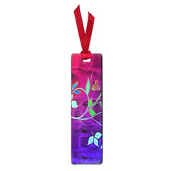 Floral Colorful Small Bookmark