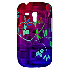 Floral Colorful Samsung Galaxy S3 MINI I8190 Hardshell Case