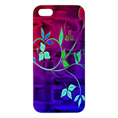 Floral Colorful Iphone 5 Premium Hardshell Case