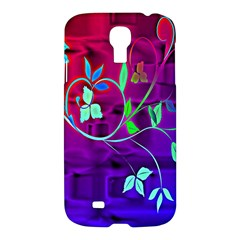 Floral Colorful Samsung Galaxy S4 I9500/I9505 Hardshell Case