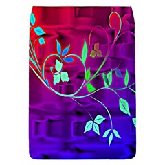 Floral Colorful Removable Flap Cover (large)