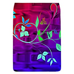 Floral Colorful Removable Flap Cover (Small)