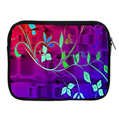 Floral Colorful Apple iPad Zippered Sleeve
