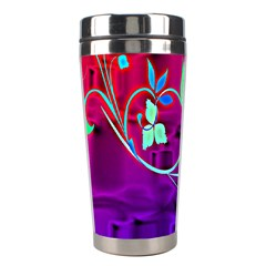 Floral Colorful Stainless Steel Travel Tumbler