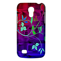 Floral Colorful Samsung Galaxy S4 Mini (GT-I9190) Hardshell Case