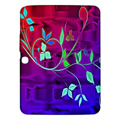Floral Colorful Samsung Galaxy Tab 3 (10 1 ) P5200 Hardshell Case