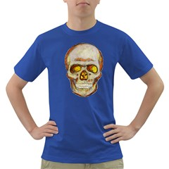 Warm Skull Mens' T-shirt (Colored)