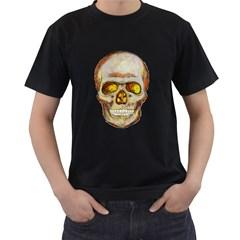 Warm Skull Mens' T Shirt (black)