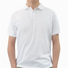 Your Logo Here Mens  Polo Shirt (White)
