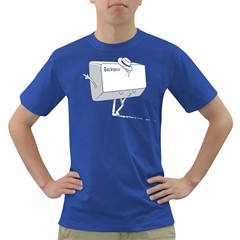 Backspace Mens' T-shirt (Colored)
