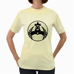 URSULA  Womens  T-shirt (Yellow)