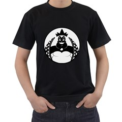 URSULA Mens' Two Sided T-shirt (Black)