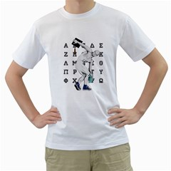 Take Your Hat Off ! Mens  T Shirt (white)