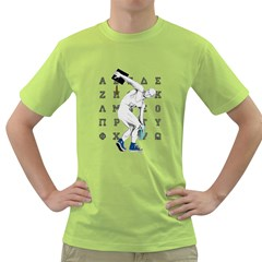 take your hat off ! Mens  T-shirt (Green)