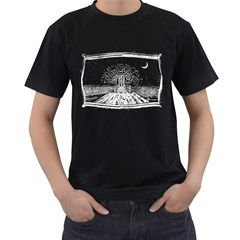 Escape Mens' T-shirt (Black)