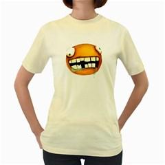Hungry  Womens  T Shirt (yellow)