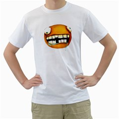 Hungry Mens  T Shirt (white)