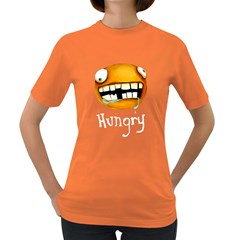 Hungry Womens' T-shirt (Colored)