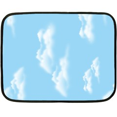in the sky Mini Fleece Blanket (Two Sided)