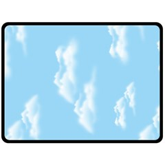 in the sky Fleece Blanket (Extra Large)