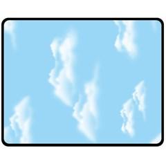 In The Sky Fleece Blanket (medium)