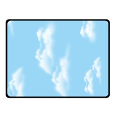 in the sky Fleece Blanket (Small)