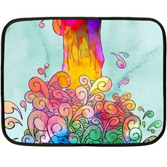 Waterfall Mini Fleece Blanket (single Sided)