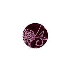 Rose 1  Mini Button