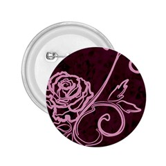 Rose 2.25  Button