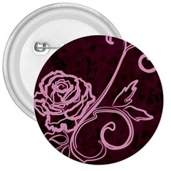 Rose 3  Button