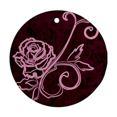 Rose Round Ornament