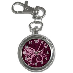 Rose Key Chain & Watch