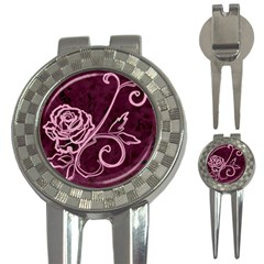 Rose Golf Pitchfork & Ball Marker