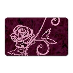 Rose Magnet (rectangular)