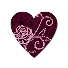 Rose Magnet (Heart)
