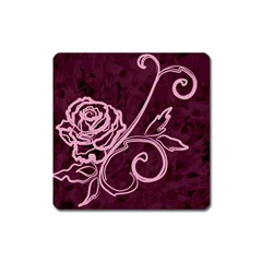 Rose Magnet (Square)
