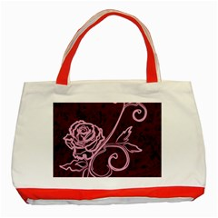 Rose Classic Tote Bag (Red)