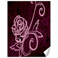 Rose Canvas 12  x 16  (Unframed)