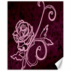 Rose Canvas 16  x 20  (Unframed)